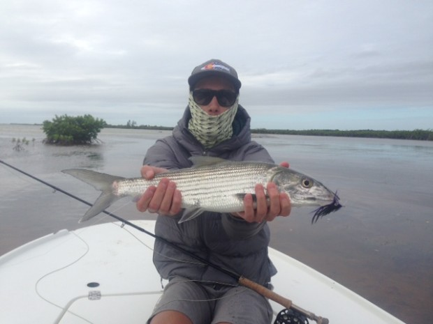 Evan Bonefish on Tarpon Fly