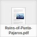 Ruins of Punta Pajaros