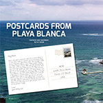 Postcards From Playa Blanca